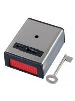 PASP1/SS ~ Metāla trauksmes poga ar atslēgu NO/NC