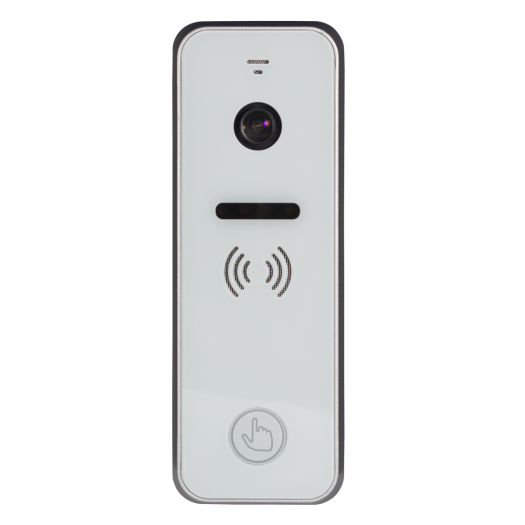 iPanel 2+ ~ Balts video ieejas panelis 110° IR LED IP66 12Vdc