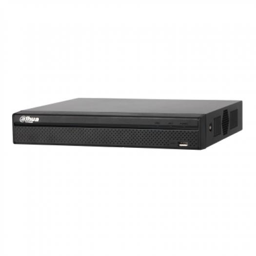 DHI-NVR4104HS-P-4KS2 ~ 8Mpix IP NVR 4 kanāli/4PoE 80Mbps H.265 HDDx1